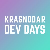 Логотип Krasnodar Dev Days