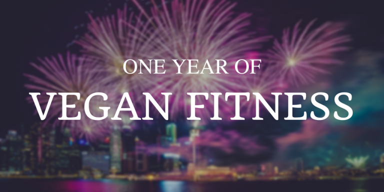 One year of vegan fitness
