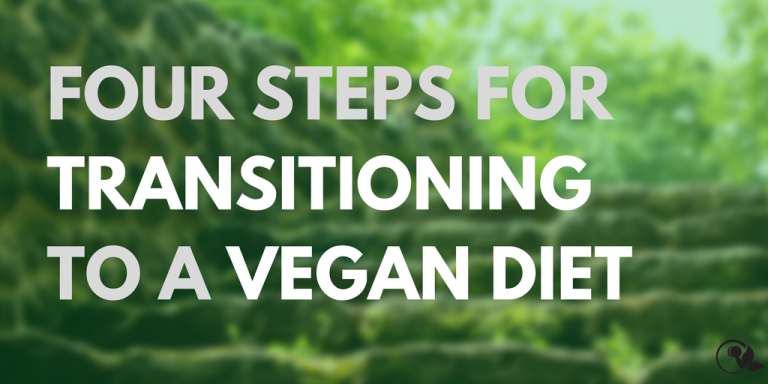 Four steps for transitioning to a vegan diet