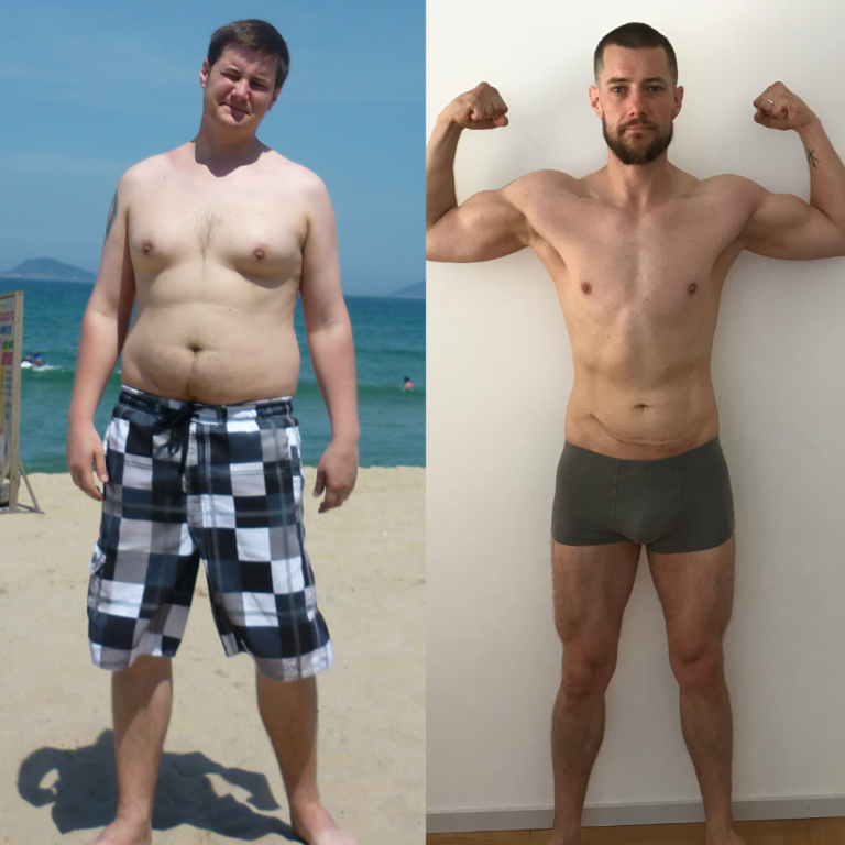 Tobias multiyear fitness progress