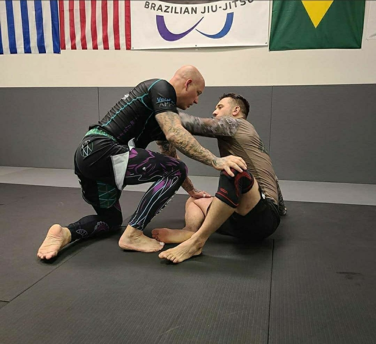 Scott Shetler training BJJ