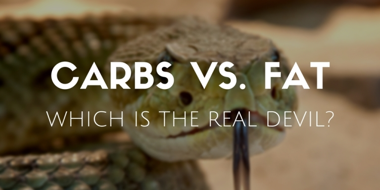 Carbs vs. fat – which is the real devil?