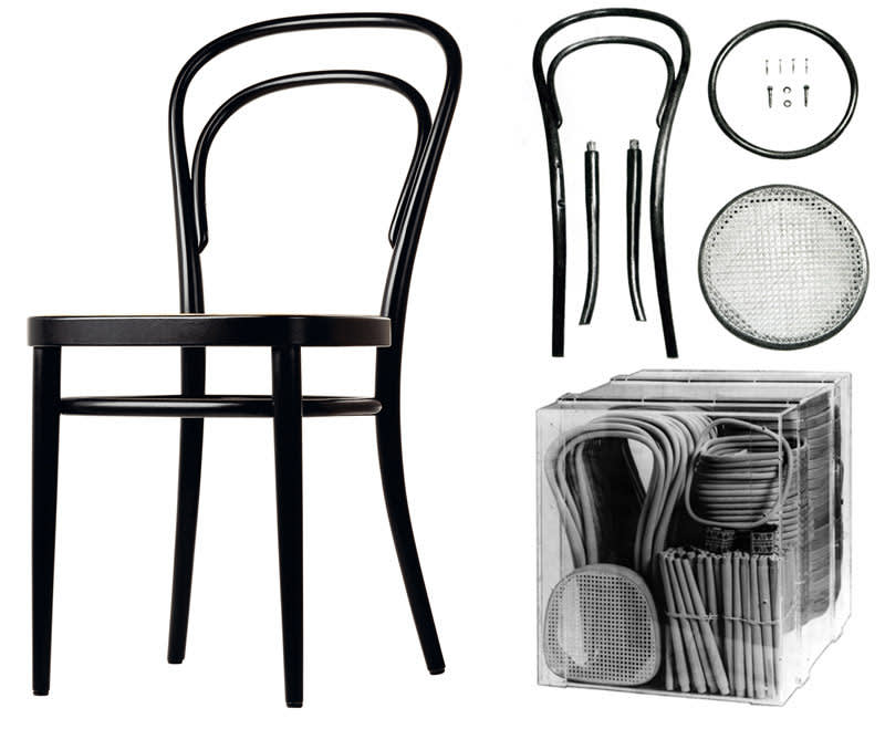 No. 14 chair assembledge   pieces