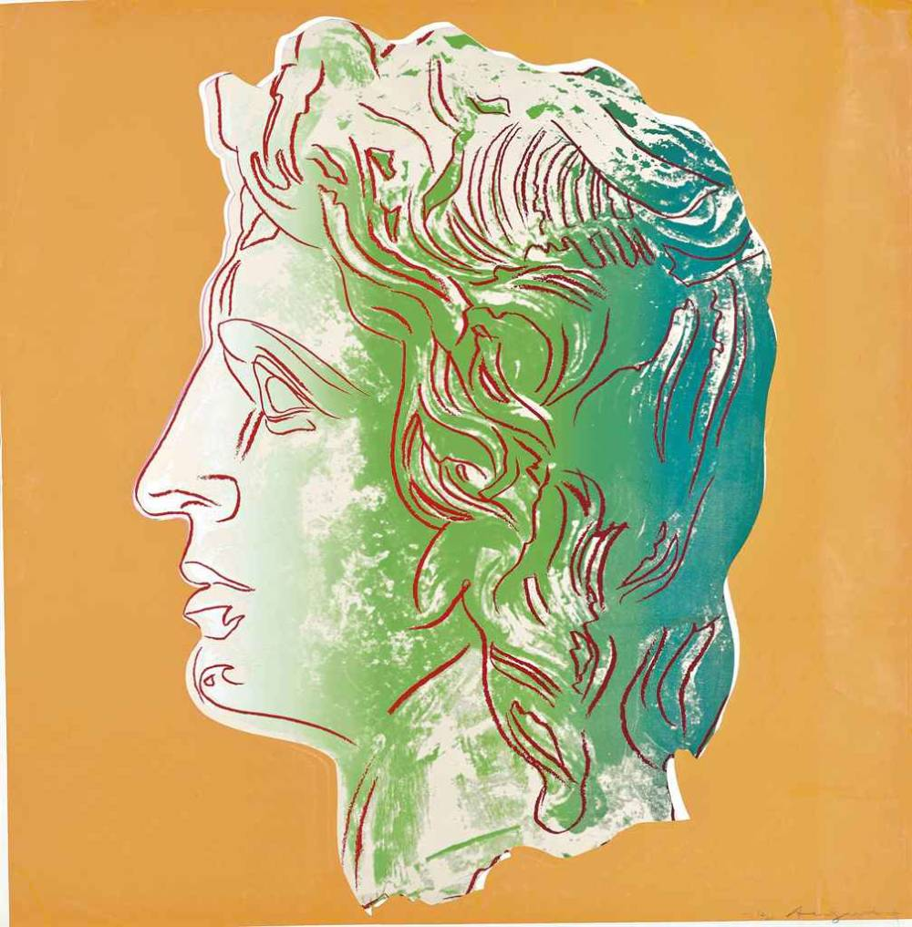 Andy warhol  alexander the great  1982