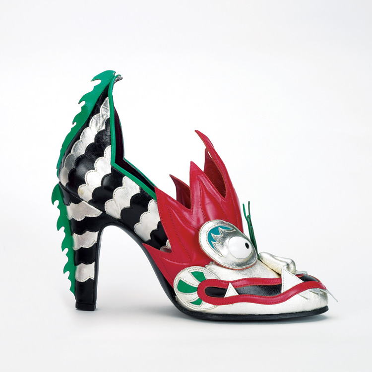 Dragon heels by british shoe designer thea cadabra in 1984
