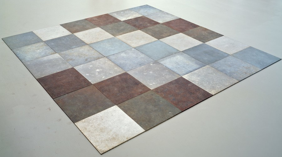 Carl andre  weathering piece  1970