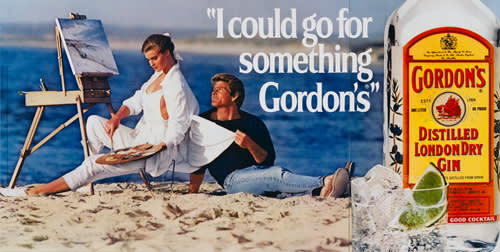 Jeff Koons, I Could Go For Something Gordon's, 1986