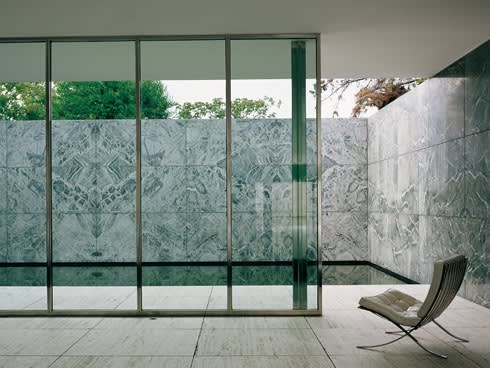 16. across barcelona  spanish city home to mies van der rohe   s 1929 german pavilion