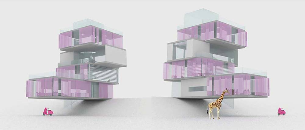 AIA Architect , Barbie Dream House Design, 2011