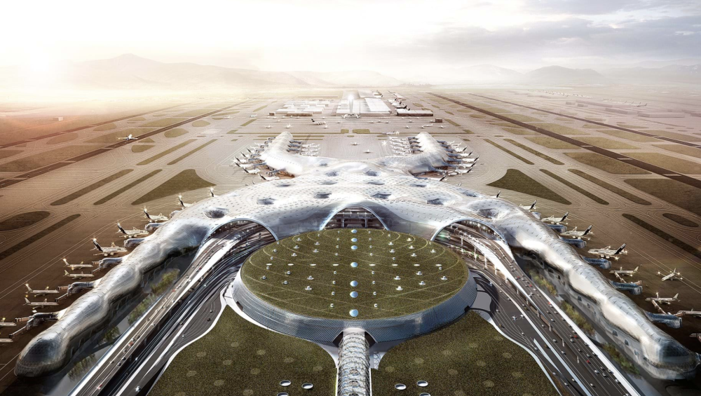 Norman Foster, Mexico City International Airport