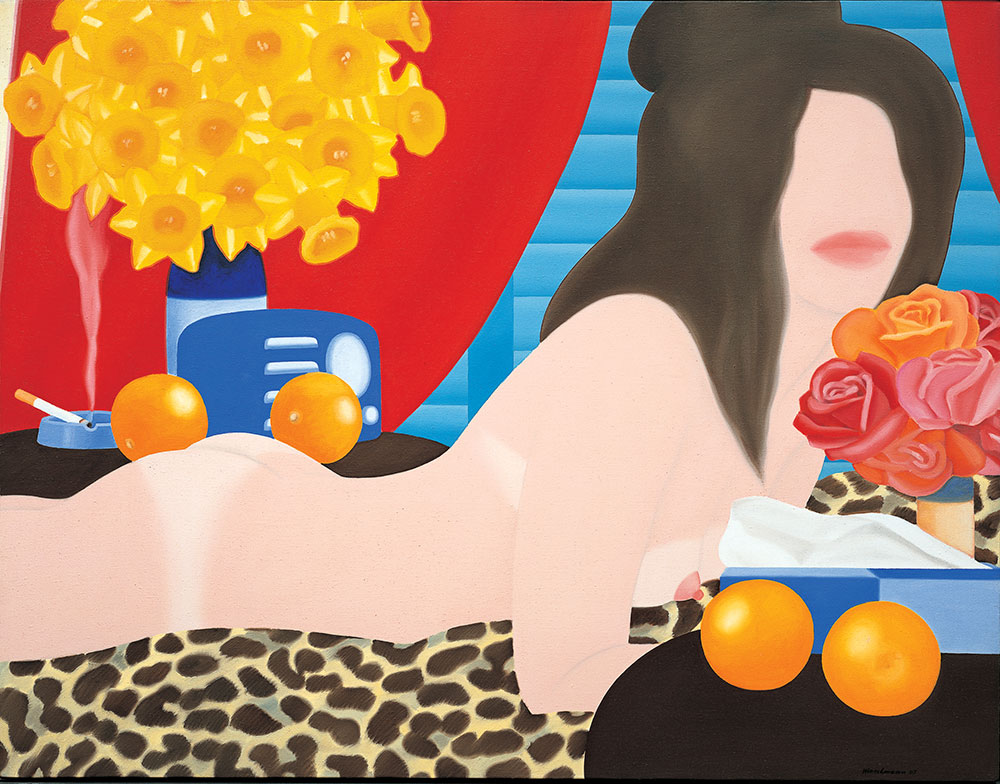 Tom wesselmann great american nude  94  1967