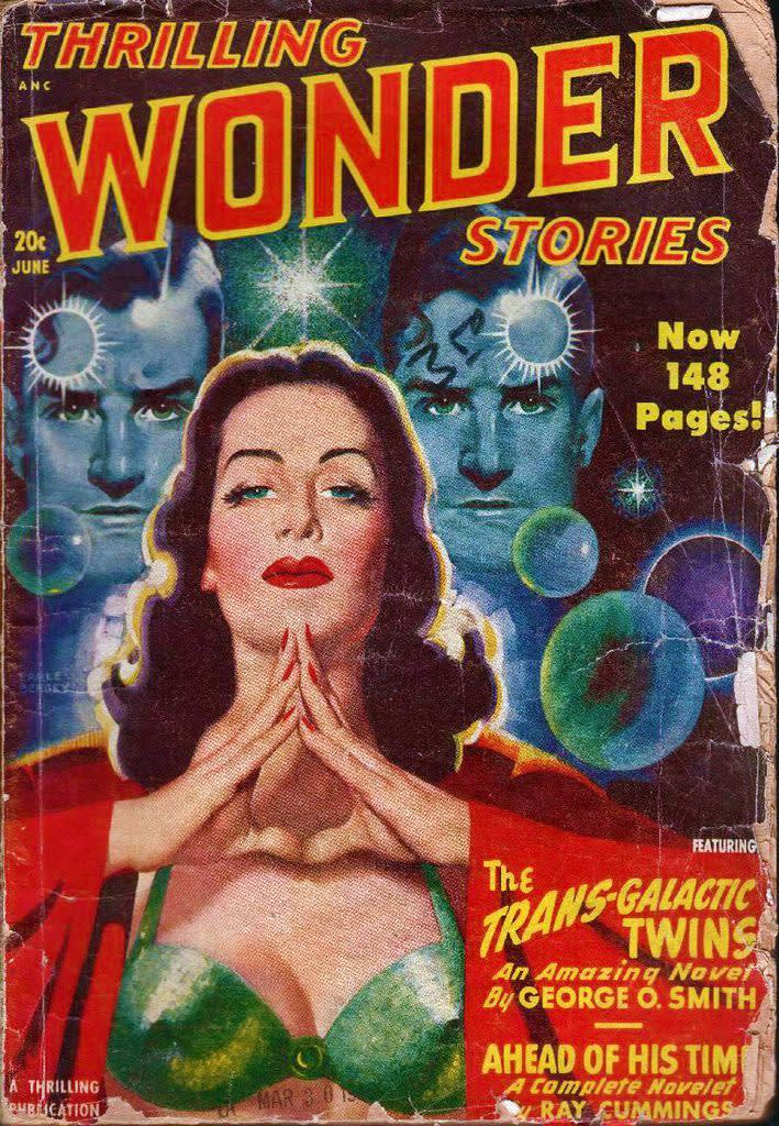 Thrilling Wonder Stories, Science Fiction Magazine, 1948