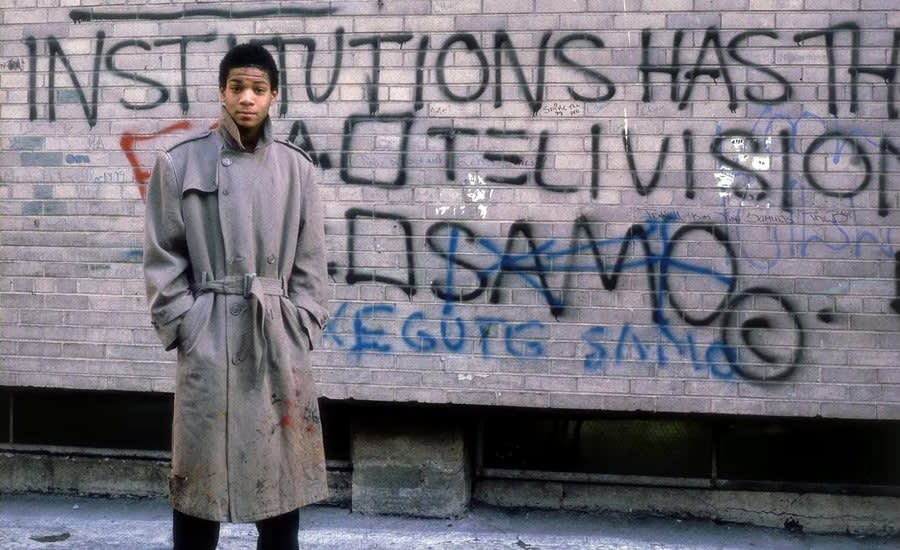 Jean-Michel Basquiat as SAMO, On the Streets of New York City, Late 1970s