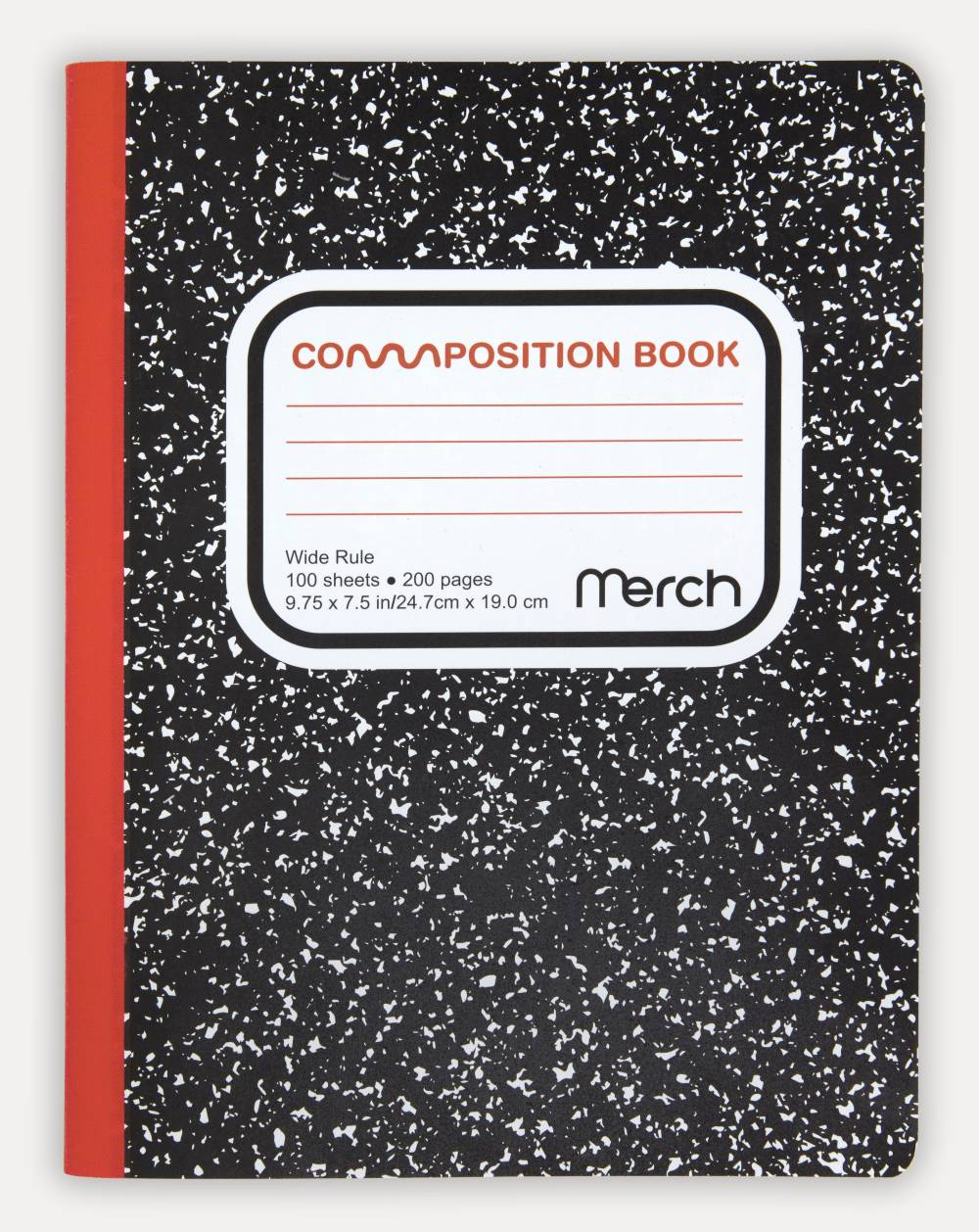 Minnie Muse , Composition Notebook