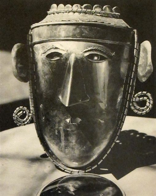 Man ray  mask  1920s
