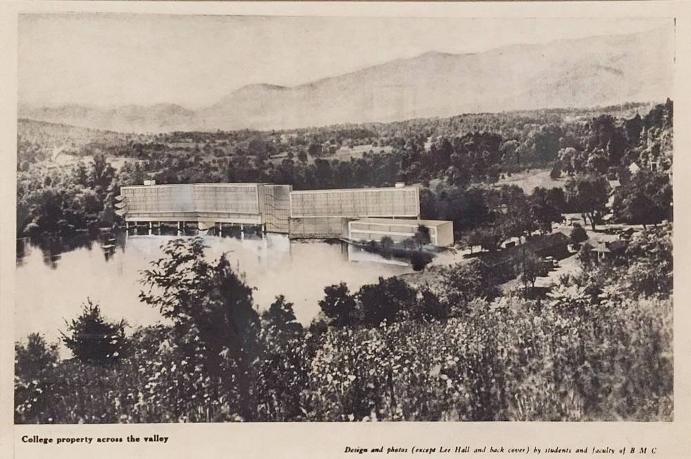 Black Mountain College , New Buildings Construction, 1940s