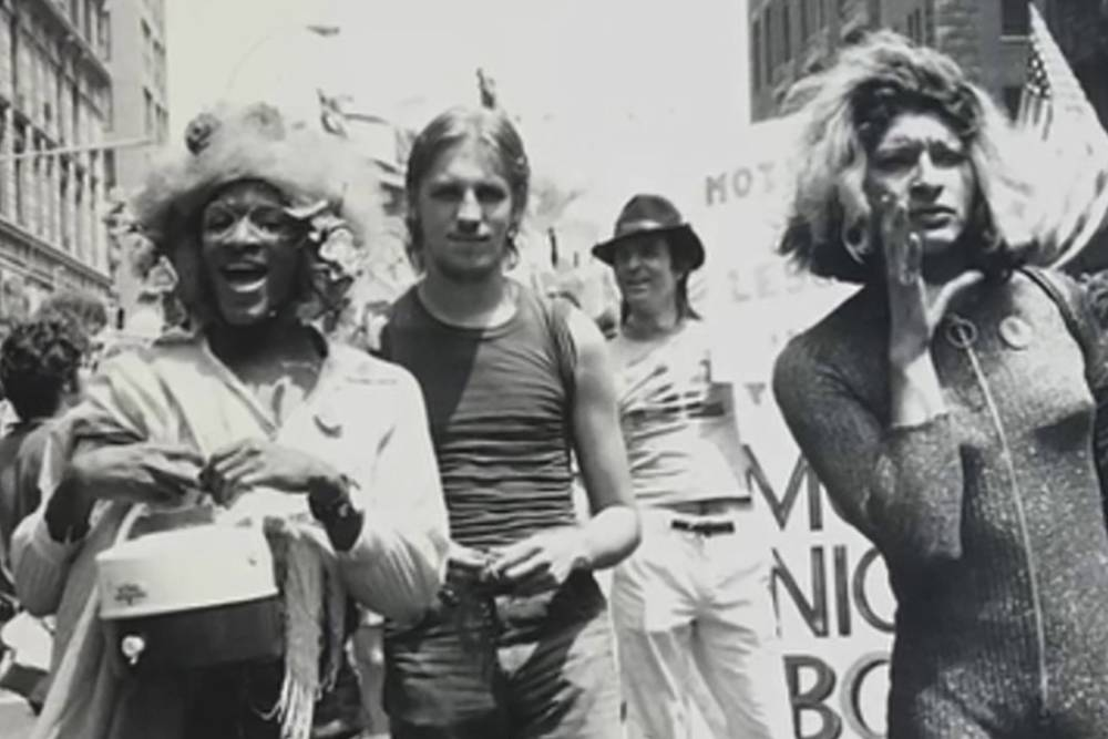 Marsha P. Johnson and Friends , Protesting in NYC
