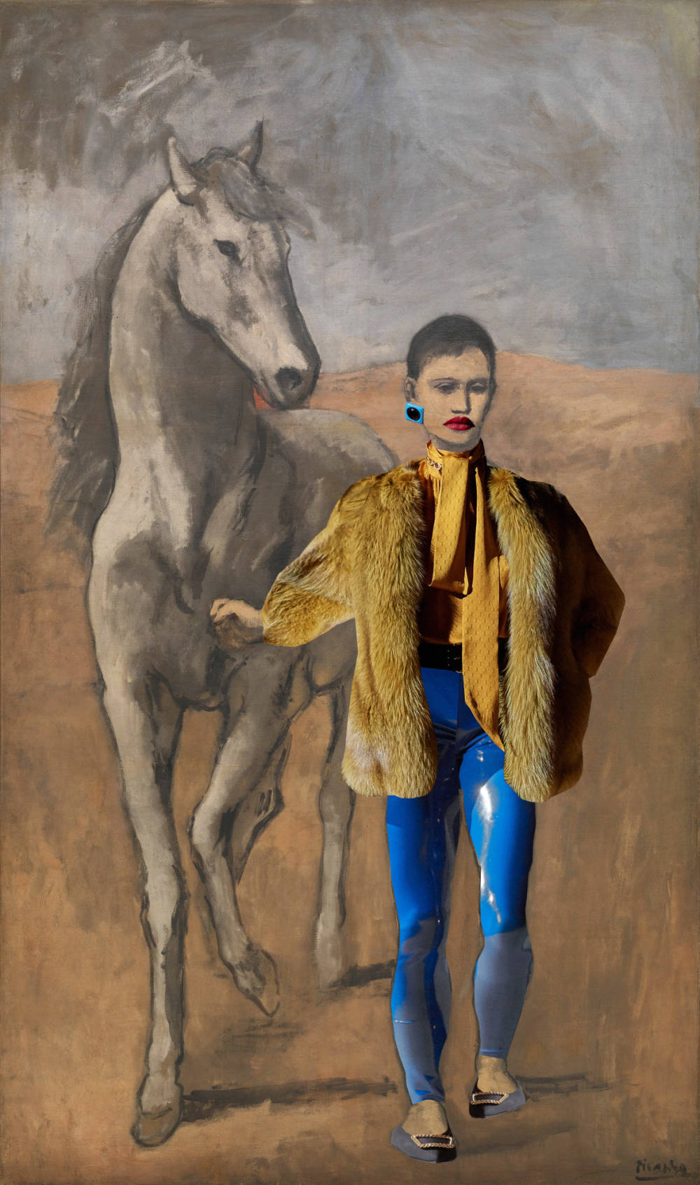 Pablo Picasso,  Boy Leading a Horse (in Saint Laurent), 1905