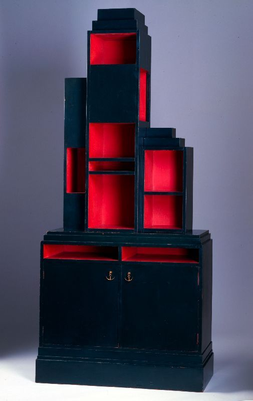 Paul t. frankl   skyscraper  bookcase  1926