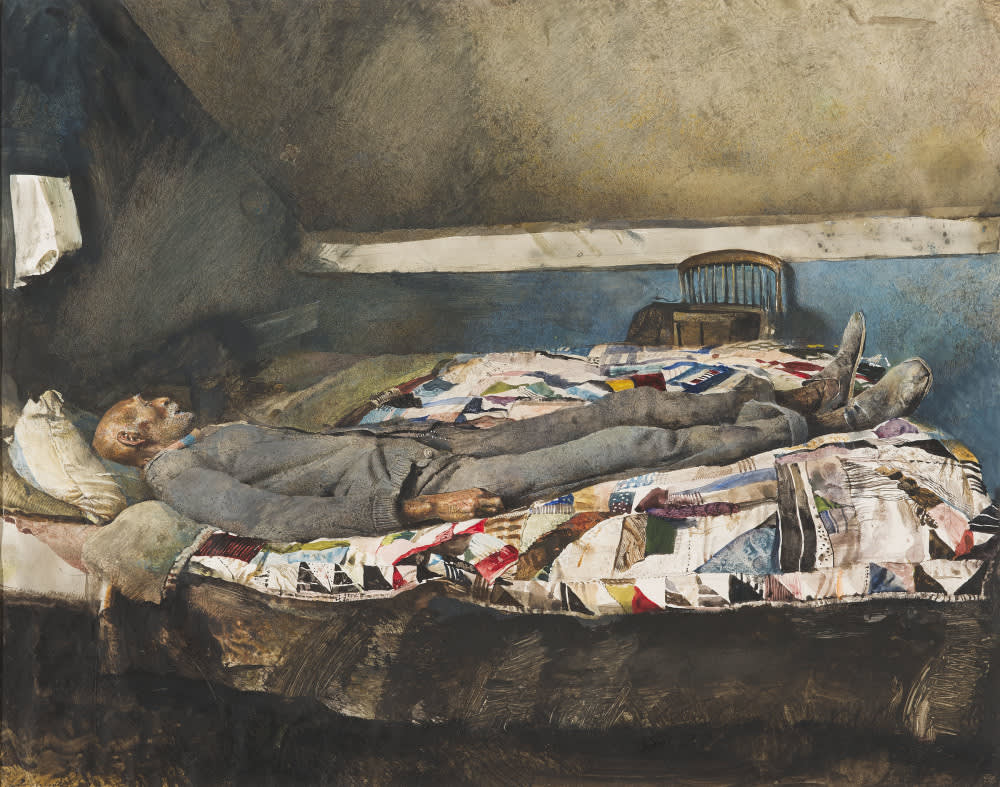 Andrew wyeth  garret room  1962