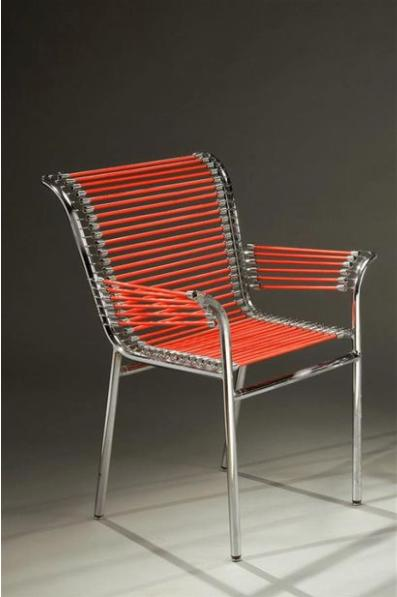 Fauteuil by rene herbst 1940s