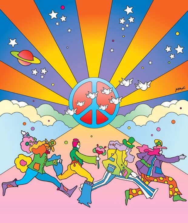 Peter max yellow submarine peace
