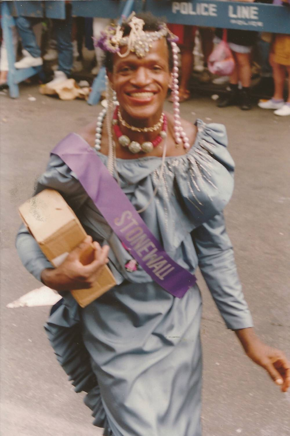Marsha P. Johnson , Stonewall Riots in NYC, 1969