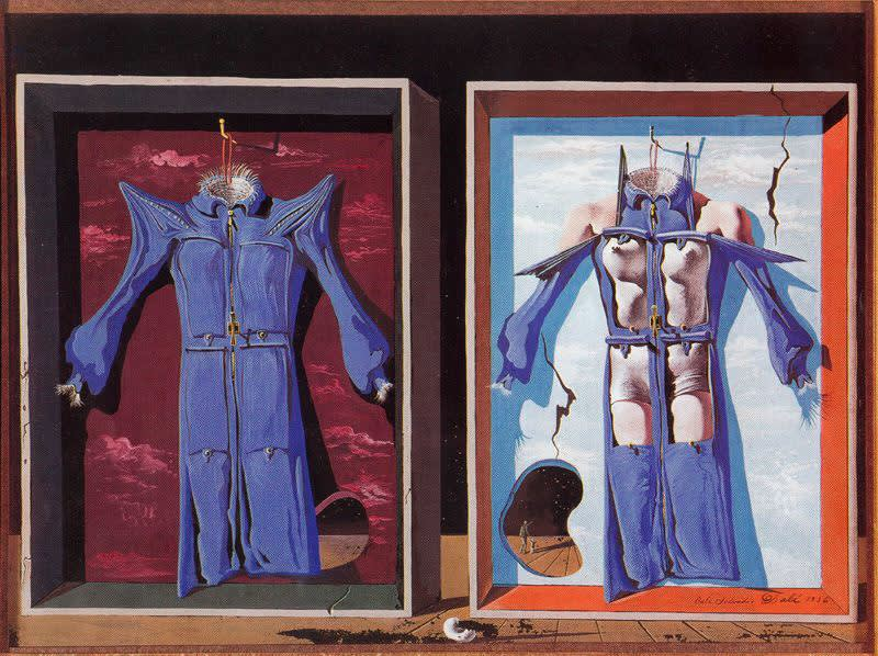 Salvador dali  night and day clothes  1936