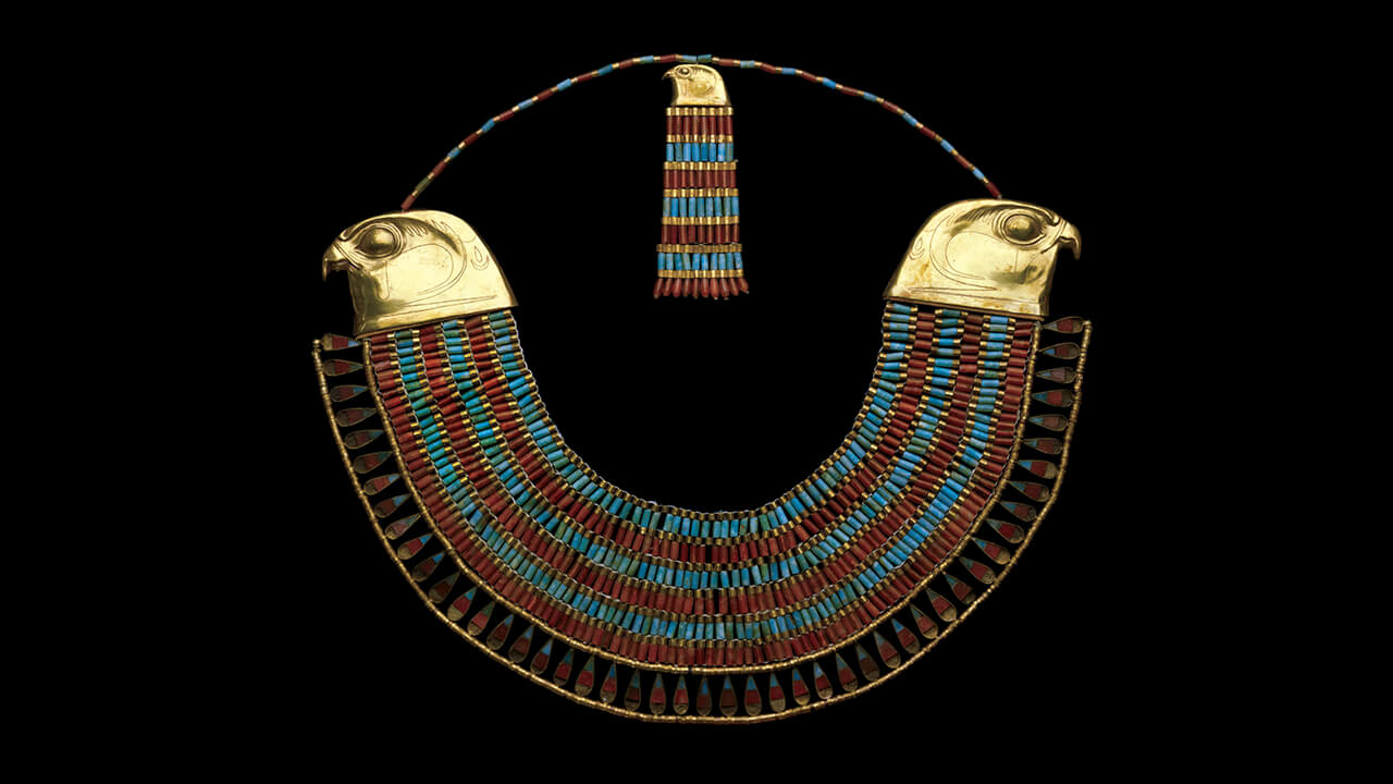 Collar of neferuptah  1800s bc