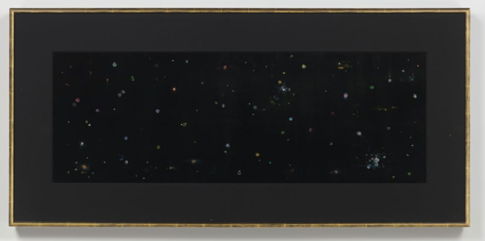 Mike Kelley, Black Velvet Study #3, 2002
