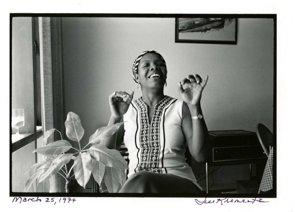 NYPL Schomburg Center , Portrait from Research Guide on Dr. Maya Angelou