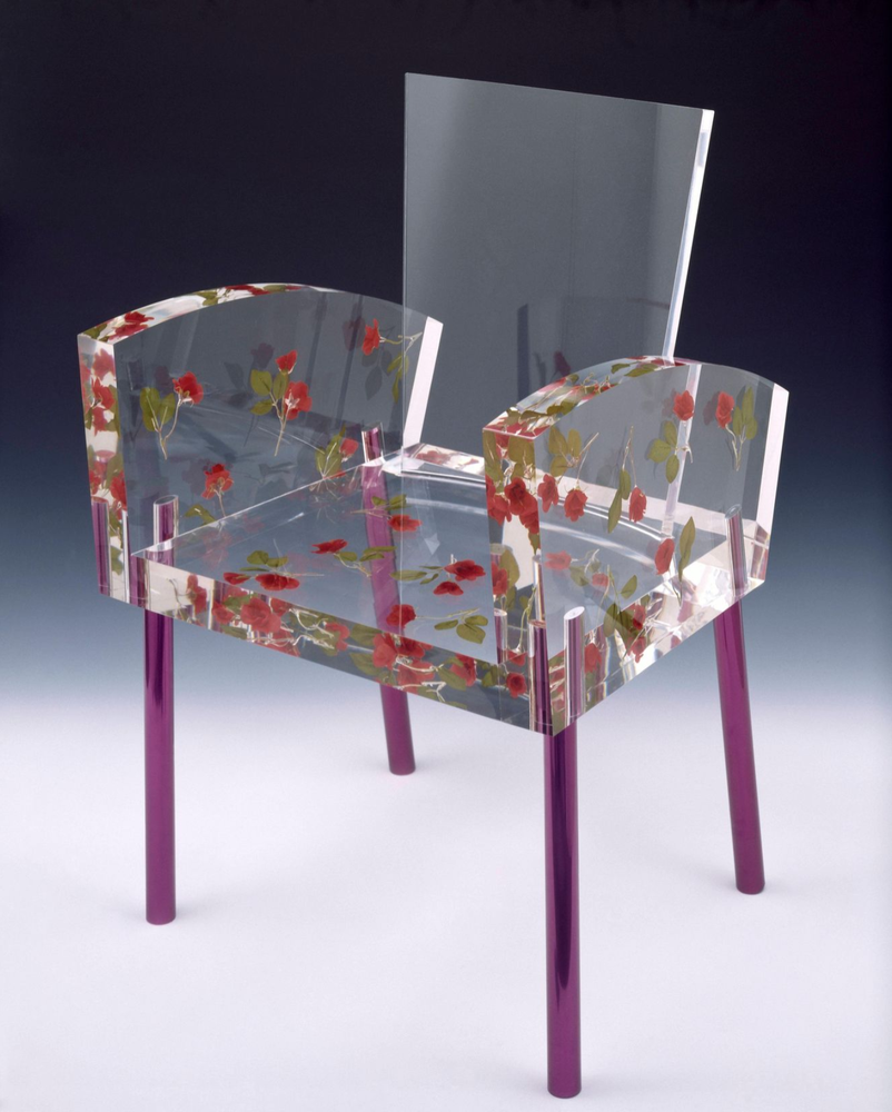 Shiro kuramata  miss blanche chair  1988