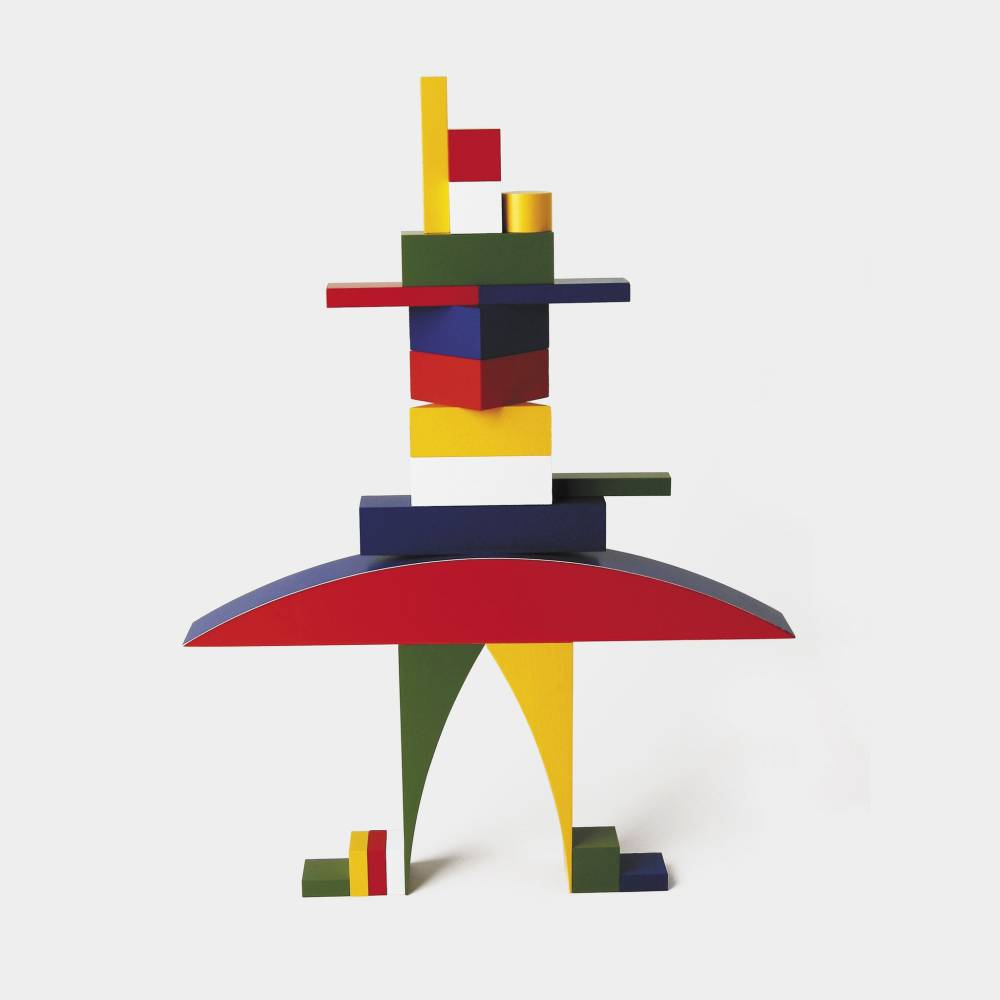 Alma Siedhoff-Buscher, Bauhaus Children's Building Blocks