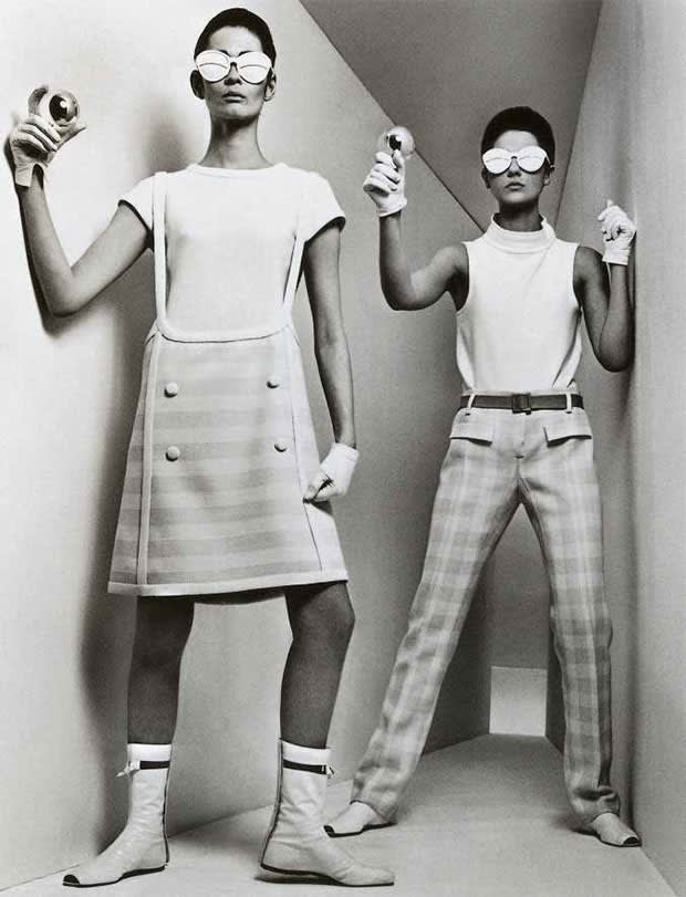 André Courrèges, Space Age Designs, 1964