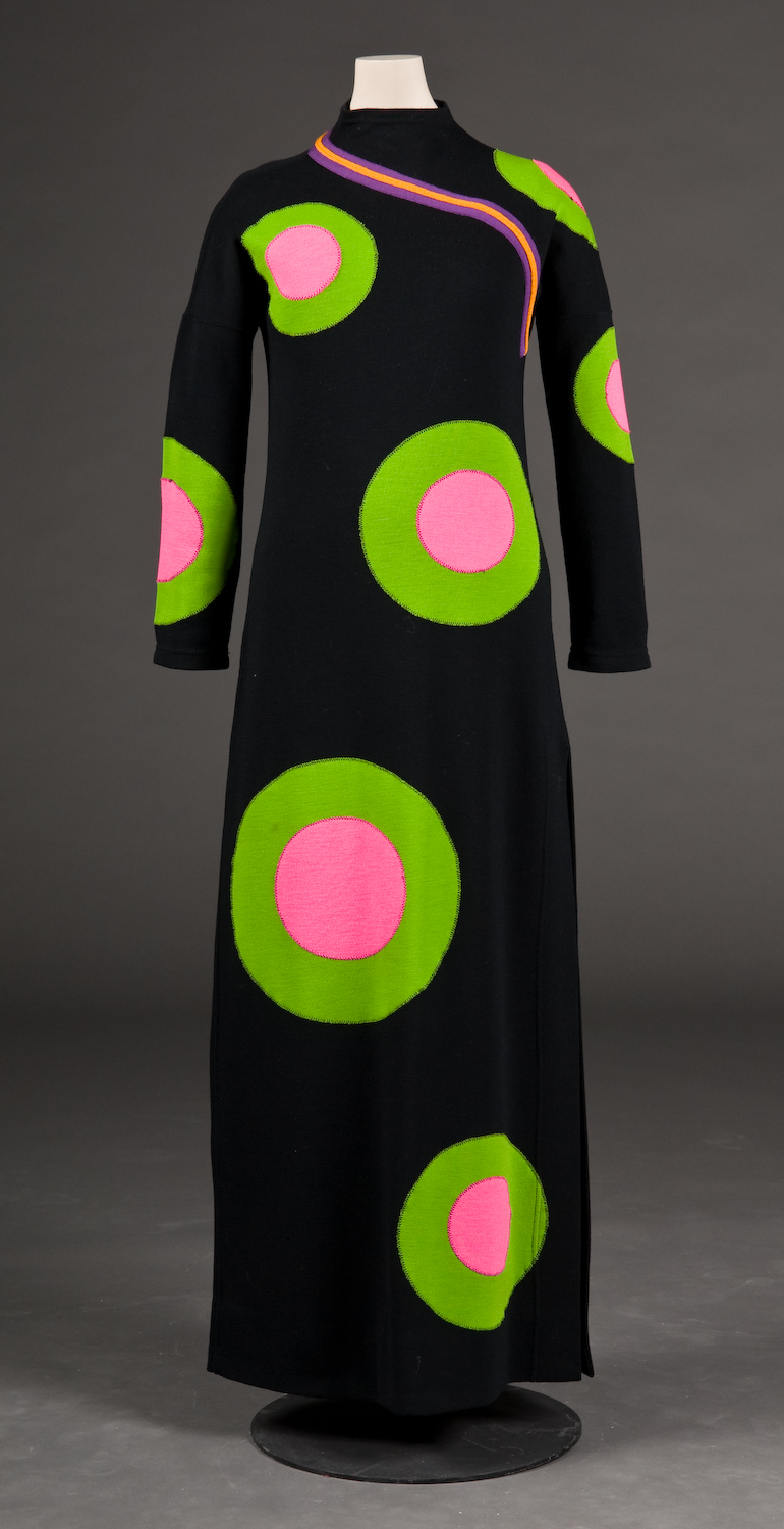Rudi gernreich  circle dress  1970s