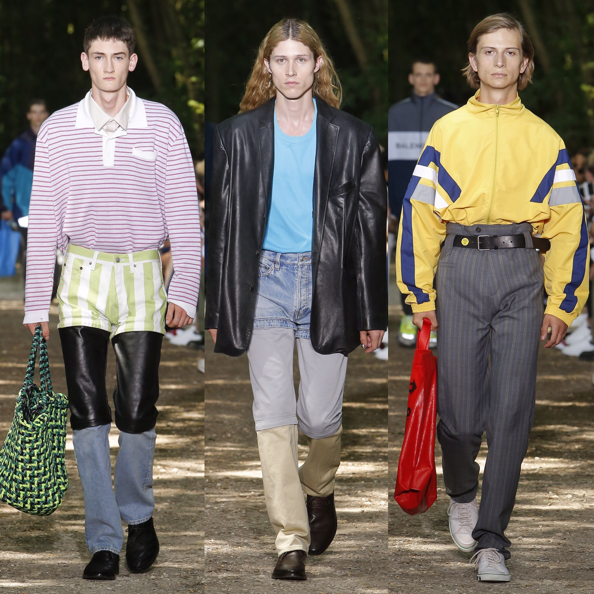 Balenciaga menswear ss 2018 collection images