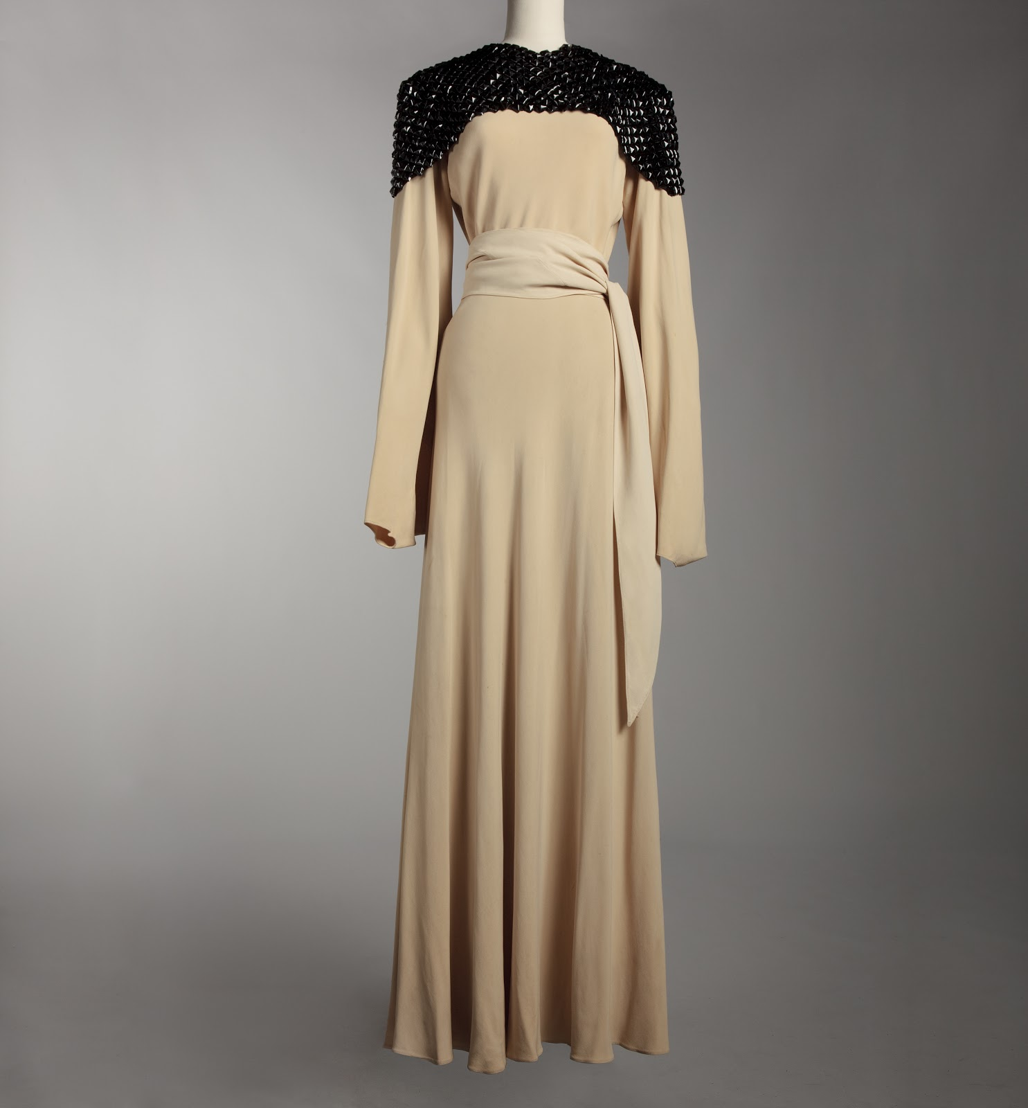Jeanne lanvin concerto evening gown  1934 35