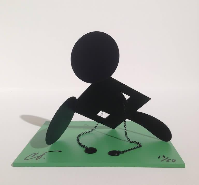 Claes Oldenburg, Geometric Mouse, Scale E Desktop, 2013