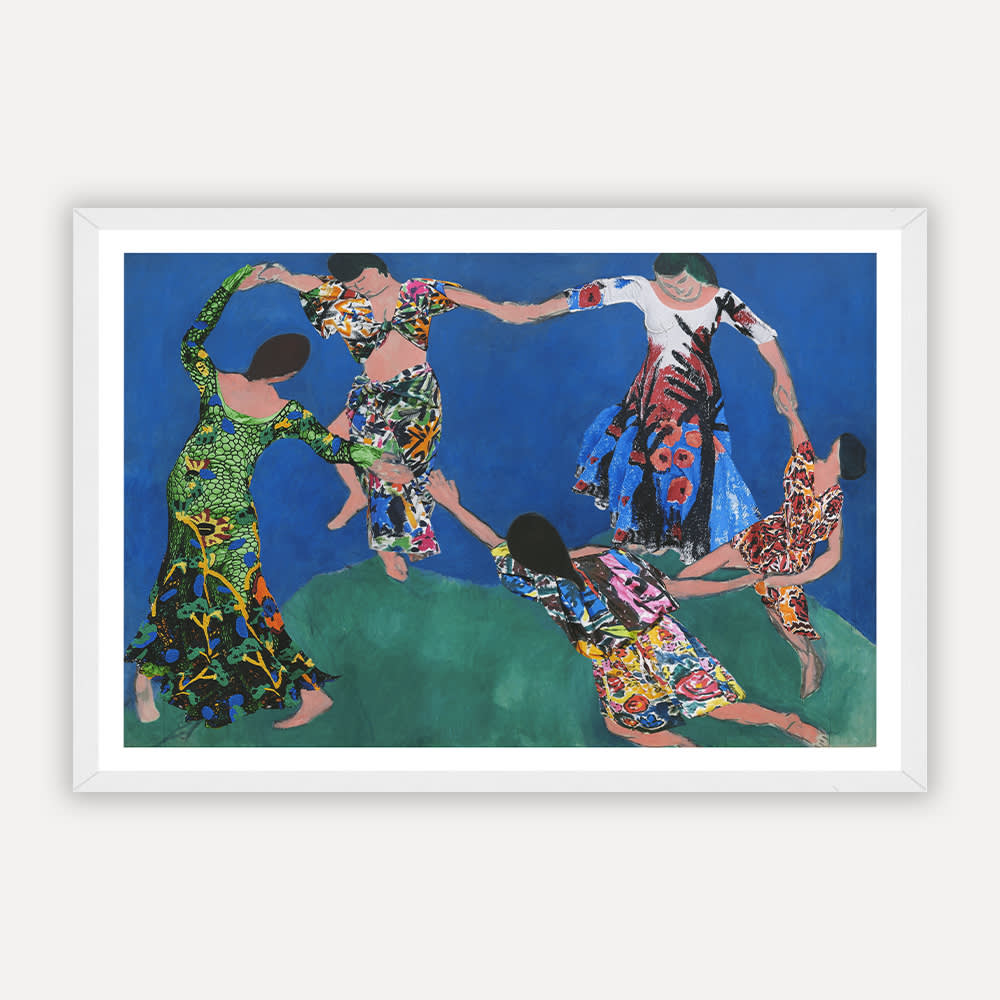 Dancers  framed