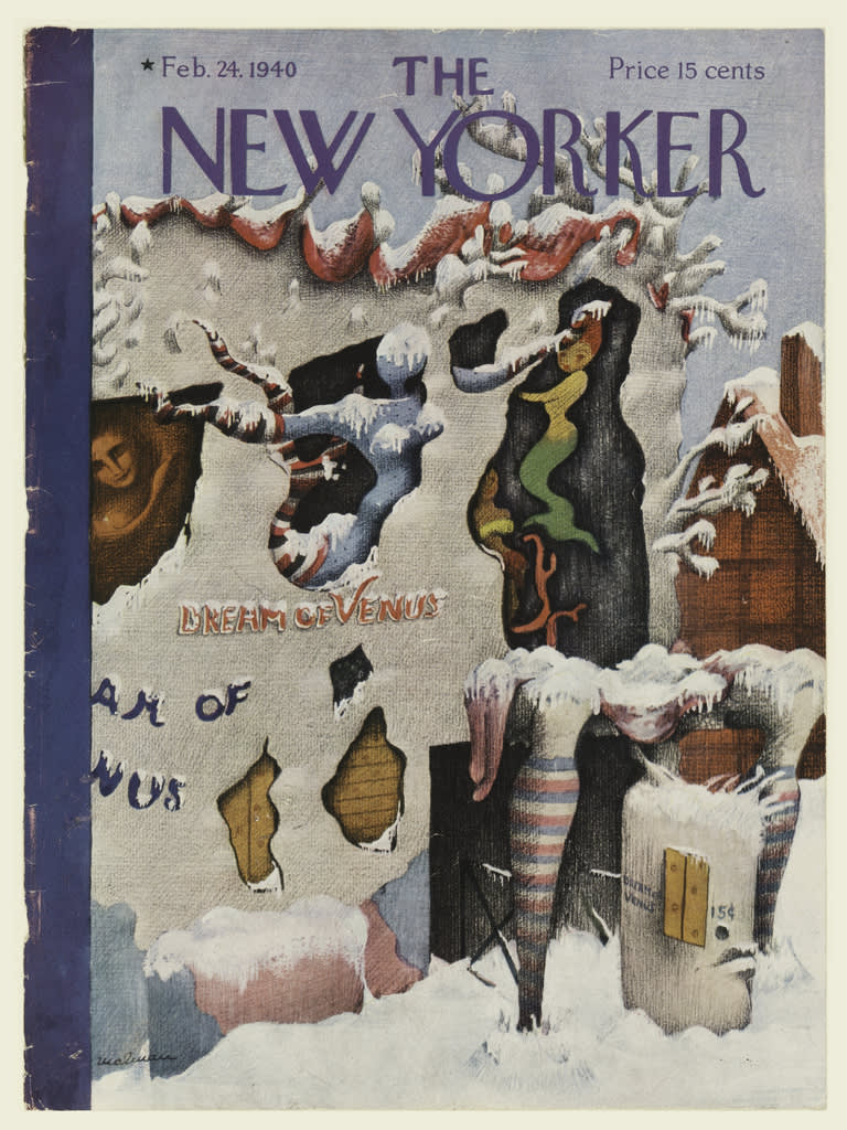 The New Yorker, Dream of Venus Cover
