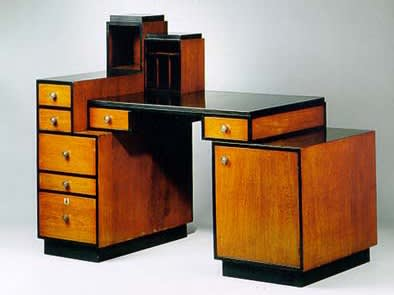 Paul t. frankl skyscraper desk ca. 1927