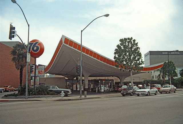 Union 76, Gas Station, 1965