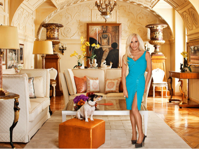 Donatella and audrey home