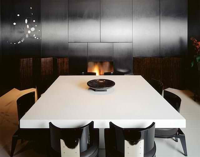 Tom Ford's London Home, Dining Room