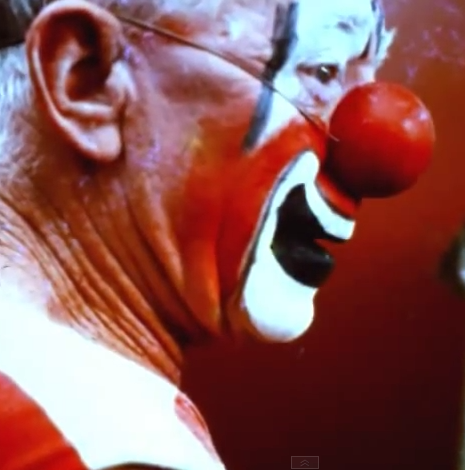 Charles + Ray Eames, Clown Face, 1971