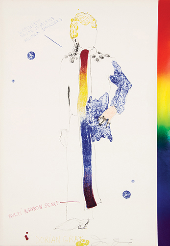 Jim dine  the picture of dorian gray  1968