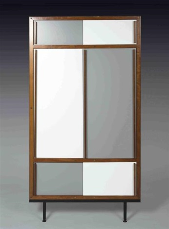 Andre   sornay  armoire a   portes coulissantes  1970