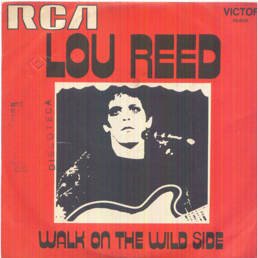 Lou Reed, Walk on the Wild Side, Album Cover