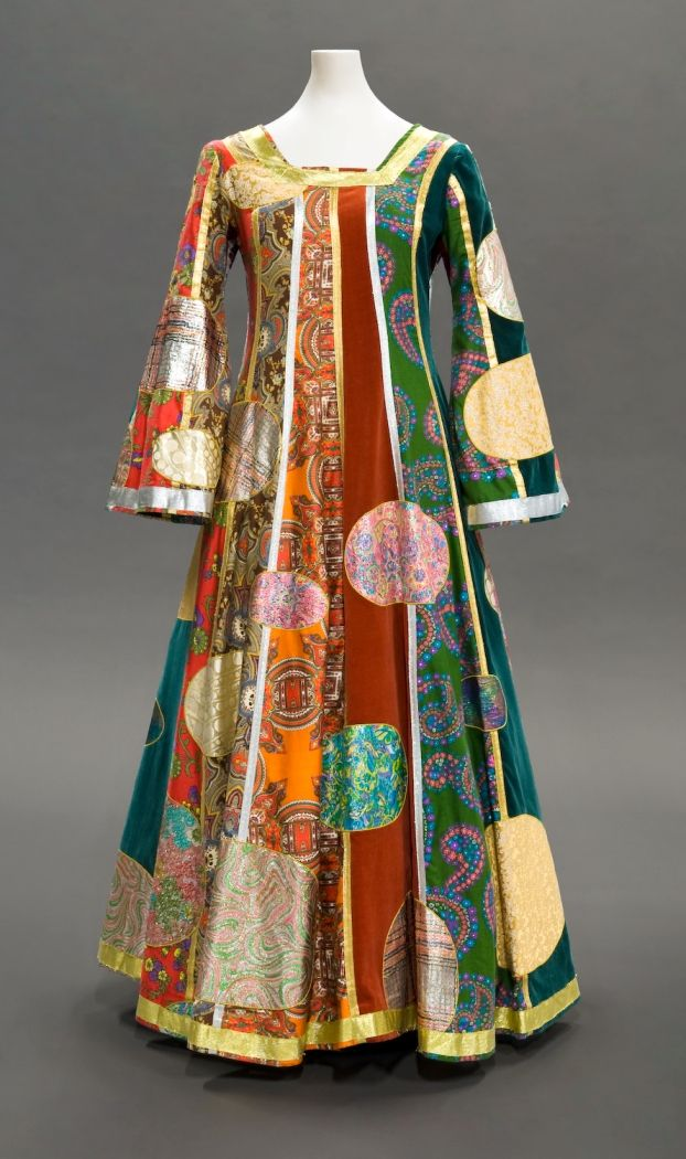 Klimt dress giorgio di sant  angelo fall 1969 fidm