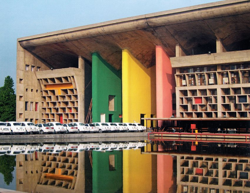 Le corbusier  palace of justice  chandigarh  india  1952